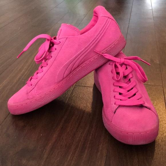Hot Pink Puma Suede Classic. M 5ac520f1f9e501fb9bb10eb6 769ff30e3a